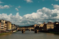 My Transition Place: Arno River & Carraia Bridge